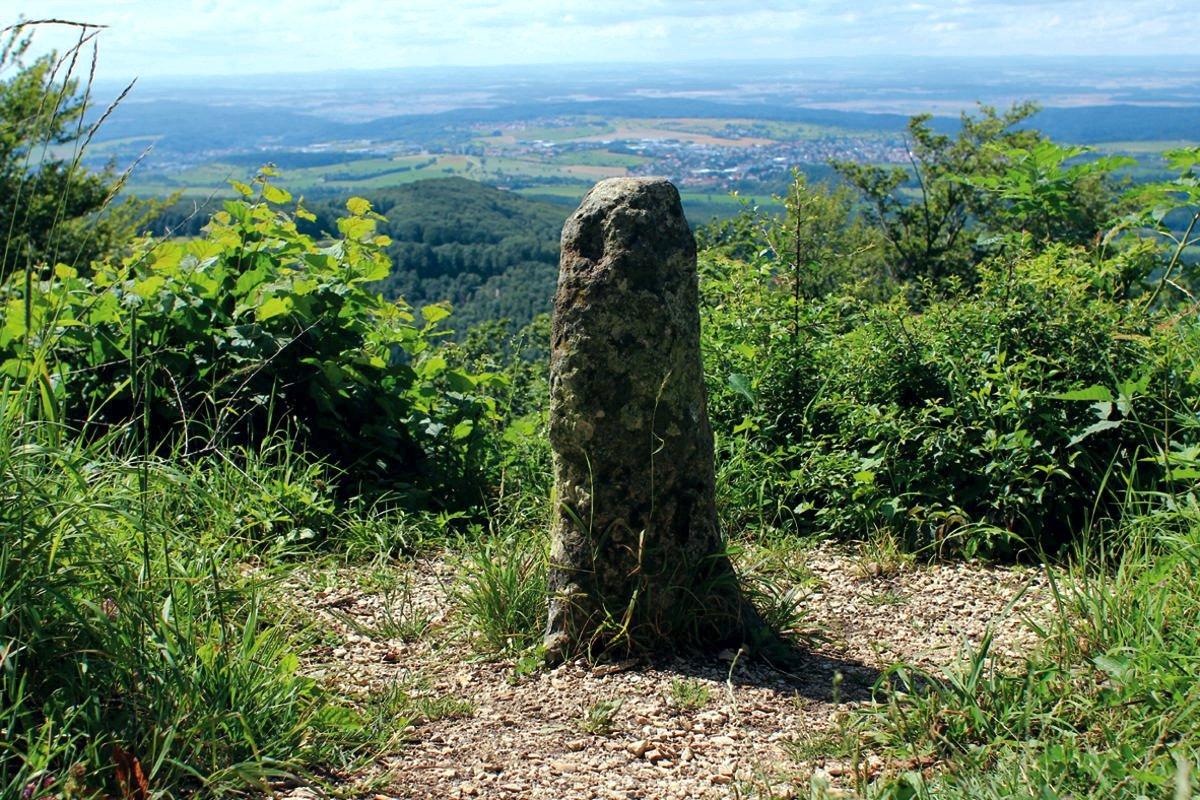 Aussichtspunkt Dreifürstein - Höhepunkt des gleichnamigen Mössinger Premiumwanderwegs