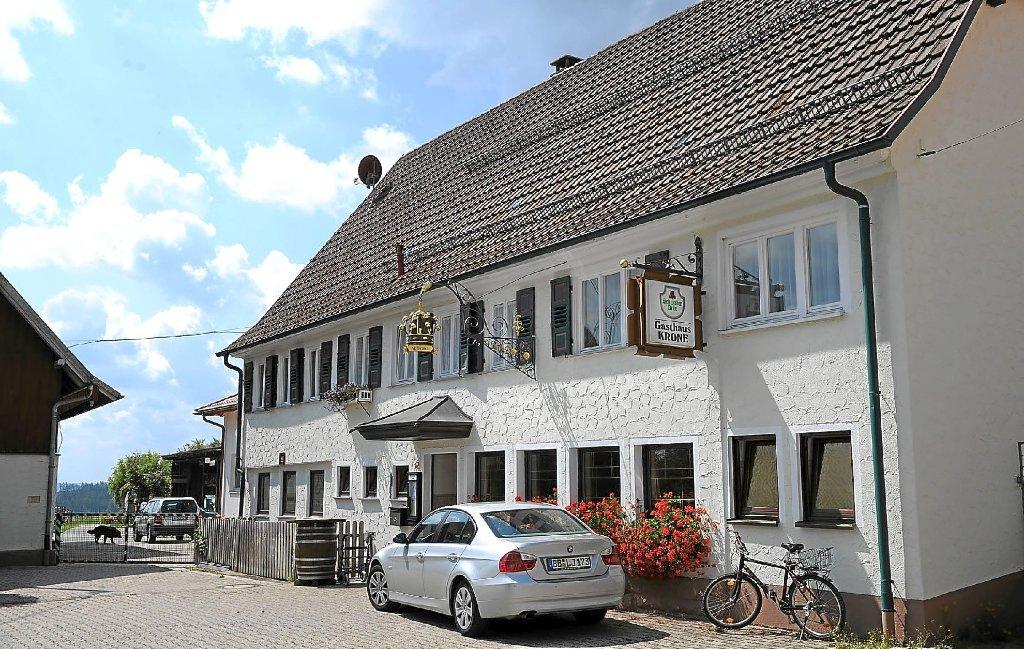 Gasthof Krone in Altbulach