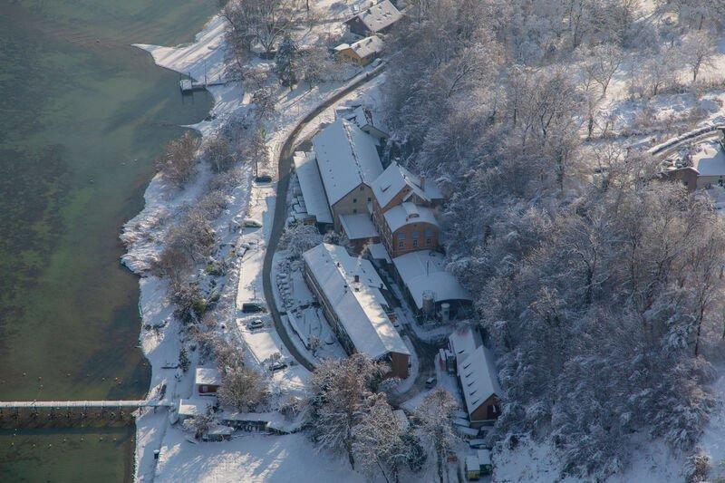 Luftaufnahme der Ruppaner Brauerei