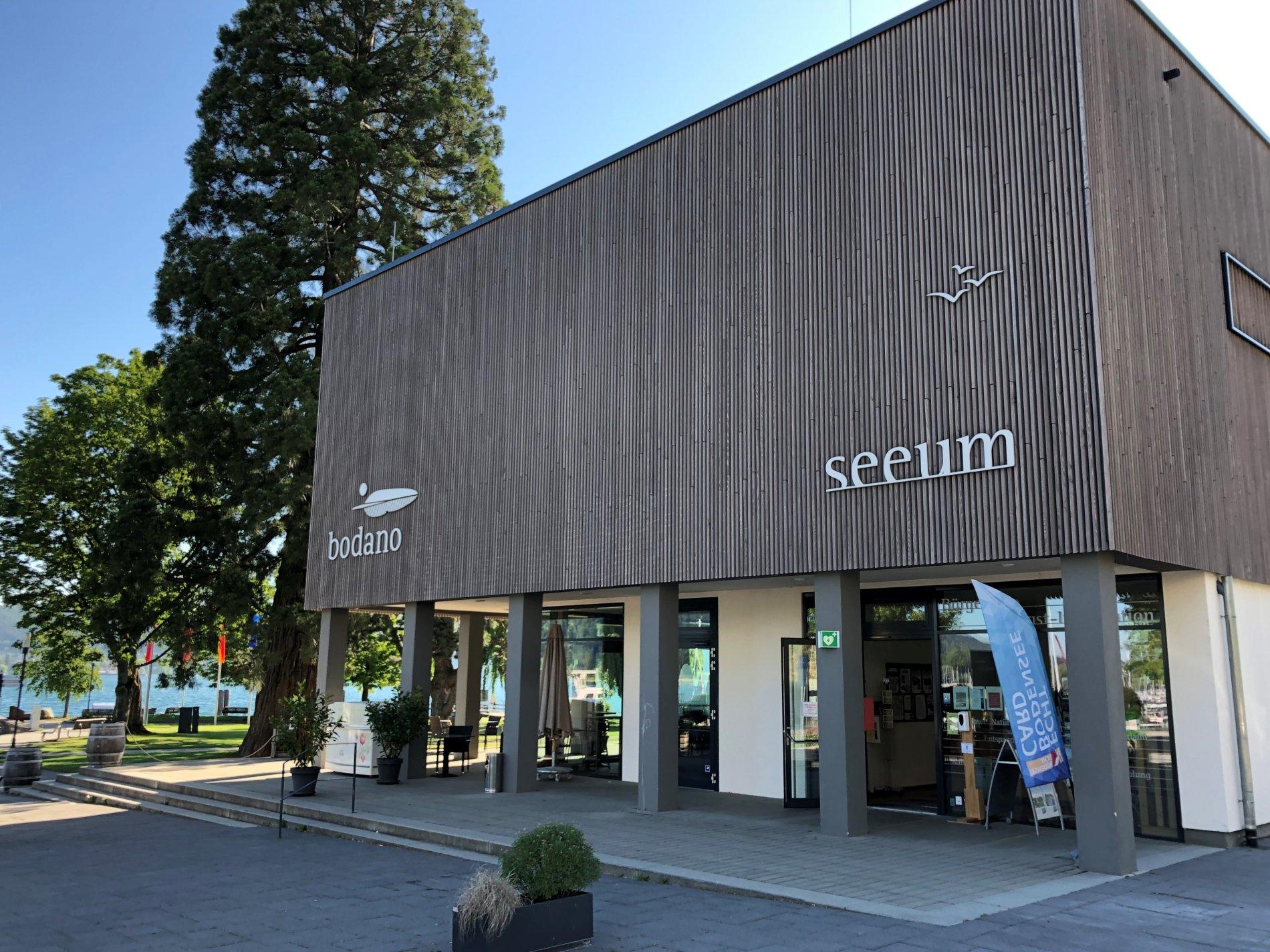 Tourist-Information im Seeum Bodman