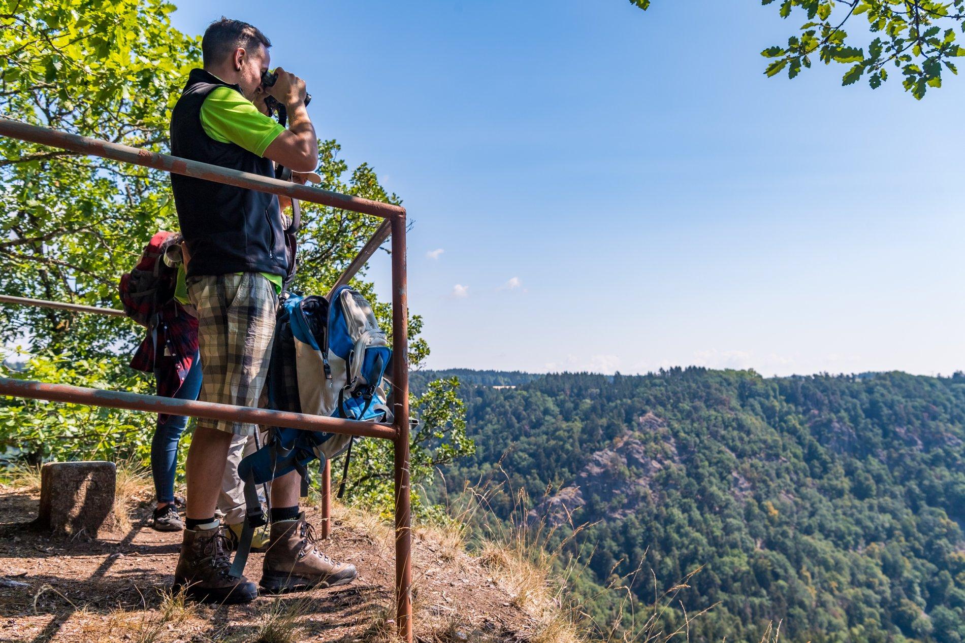 Aussichtspunkt Hohluhfelsen