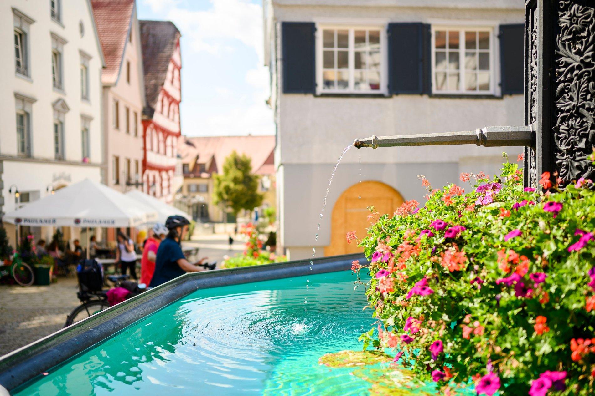 Hechtbrunnen beim Marktplatz