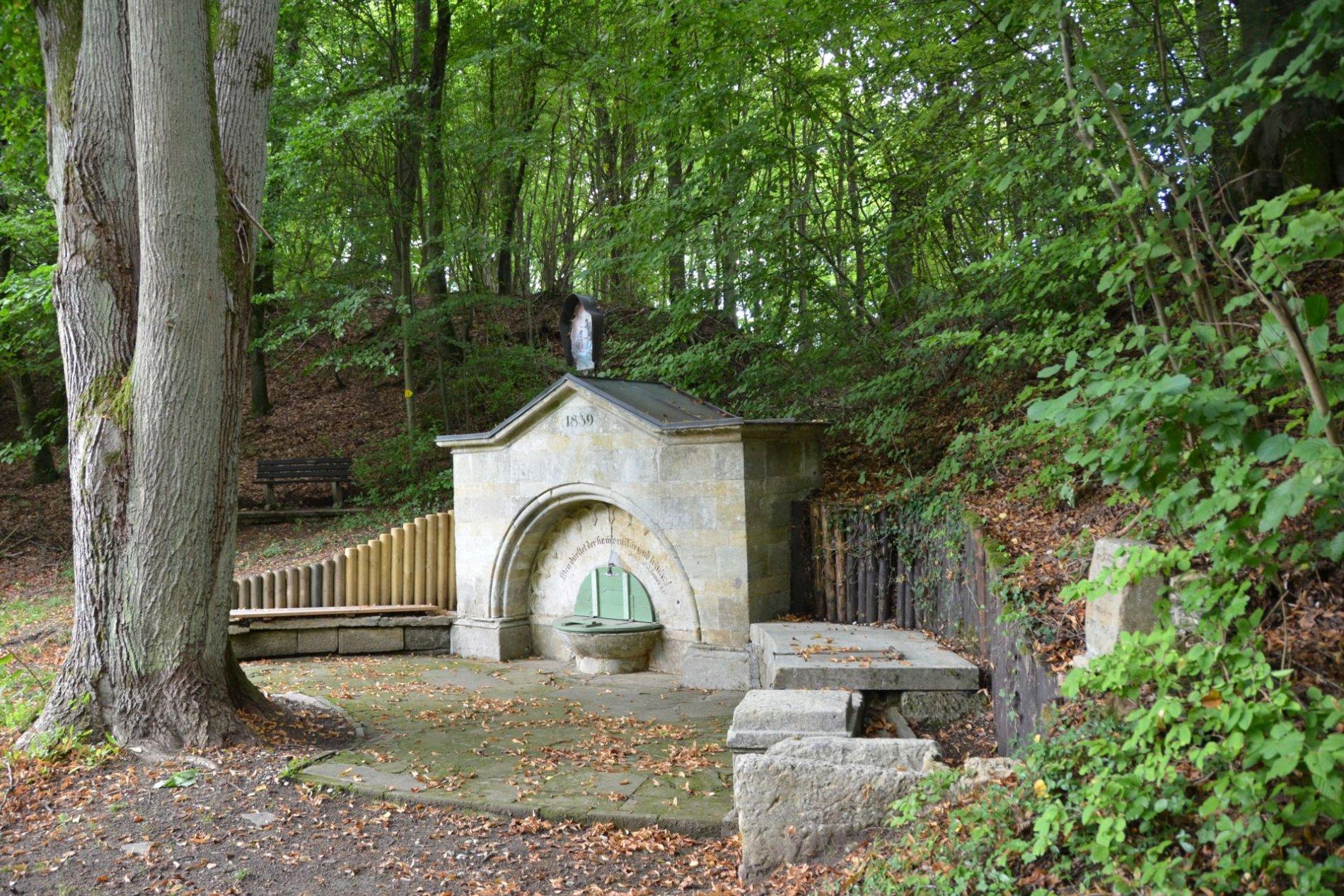 Brünnerl in Ihrlerstein bei Kelheim