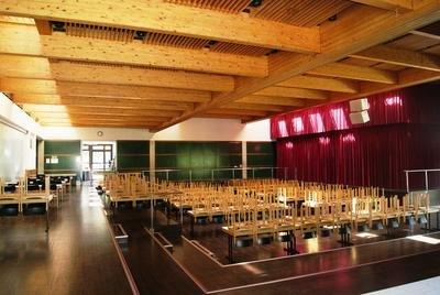 Die Festhalle Wolfach im Gebäude der Realschule Wolfach