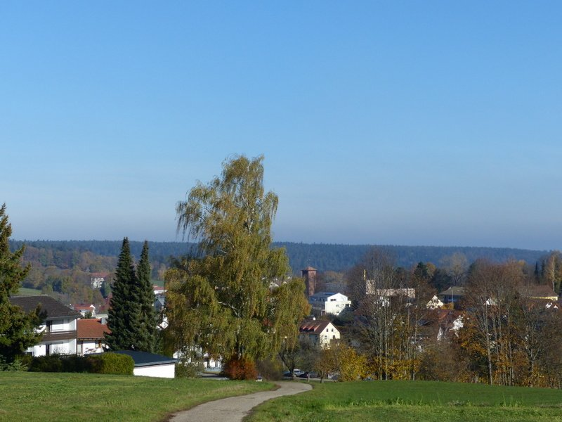 Ausblick Schillereiche auf Schömberg