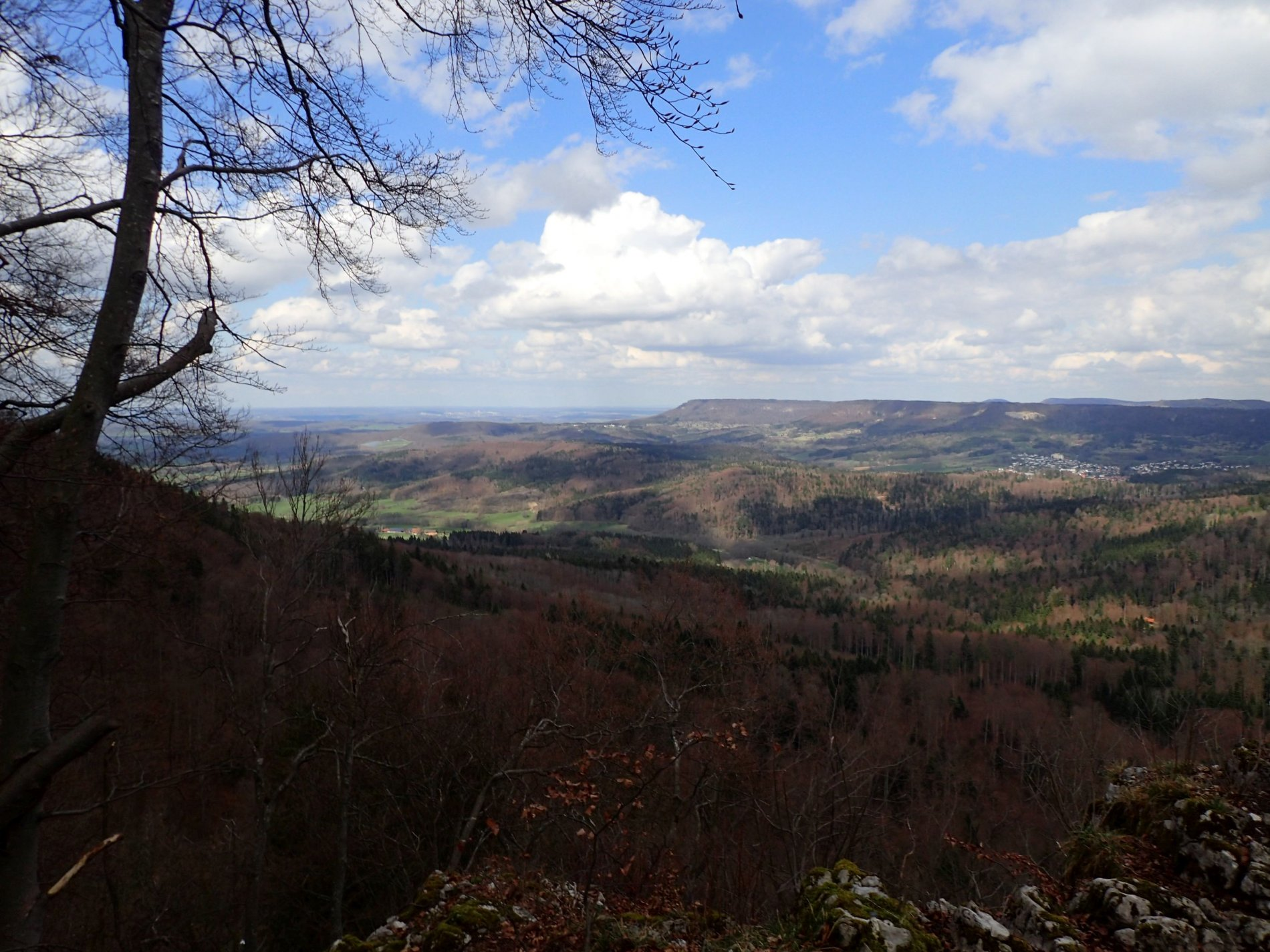 Wunderschöner Ausblick auf den Dreifürstenstein