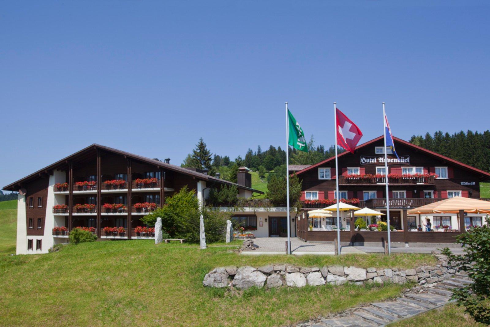 Restaurant Hotel Arvenbüel Aussenansicht
