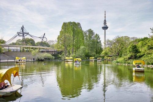 Luisenpark Mannheim, Familienpicknick im Grünen