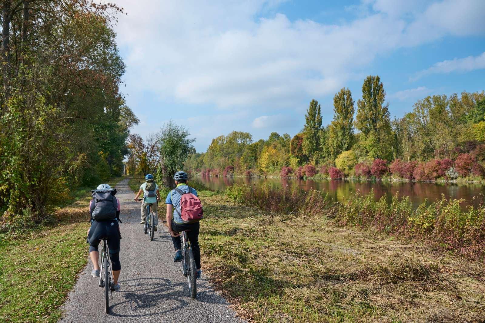 Radlspaß für die ganze Familie auf dem Isar-Radweg