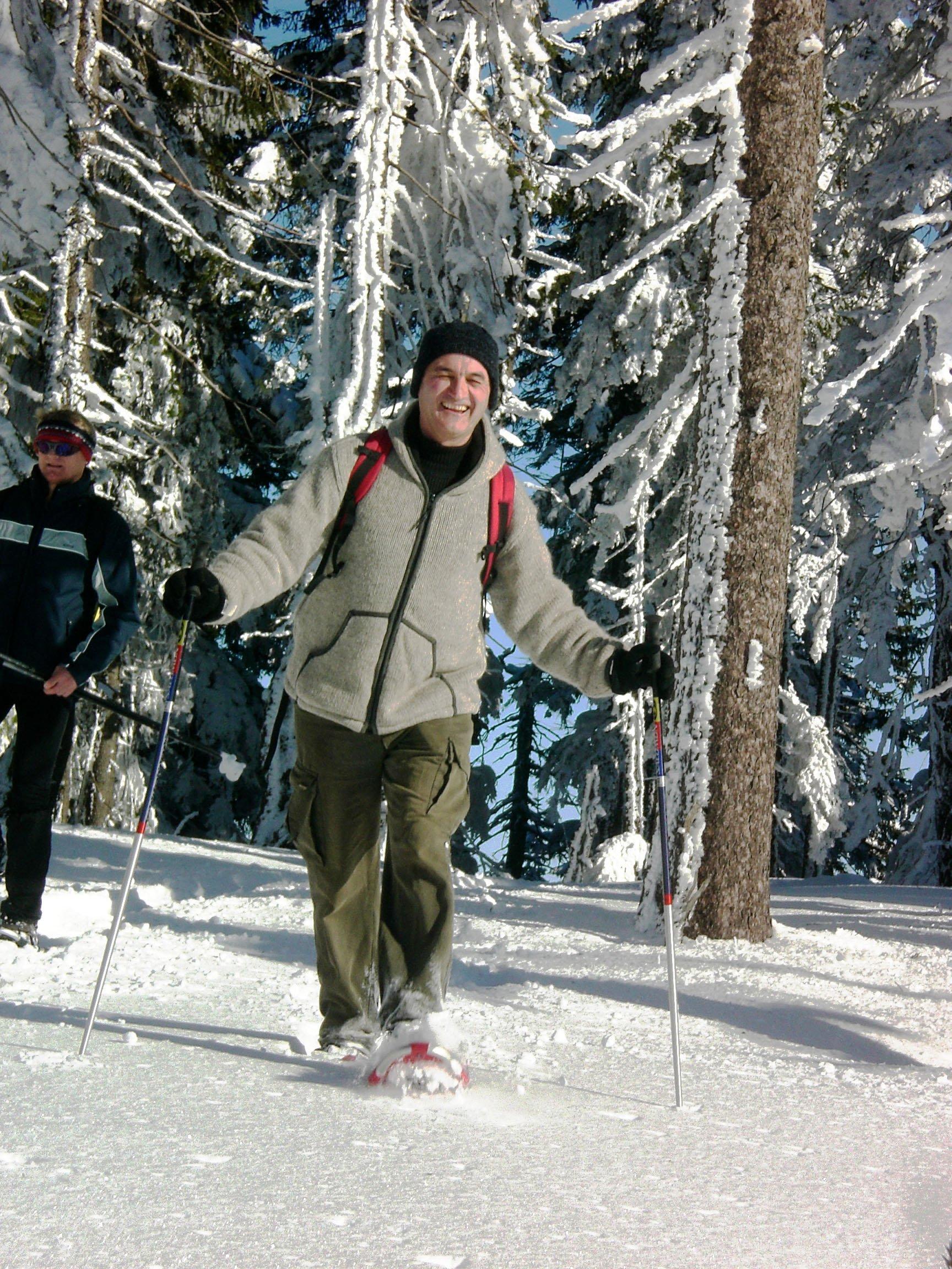 Geführte Schneeschuhwanderung im Bayerischen Wald