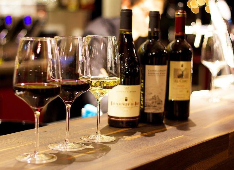 Weinverkostung Aurum Weinbar