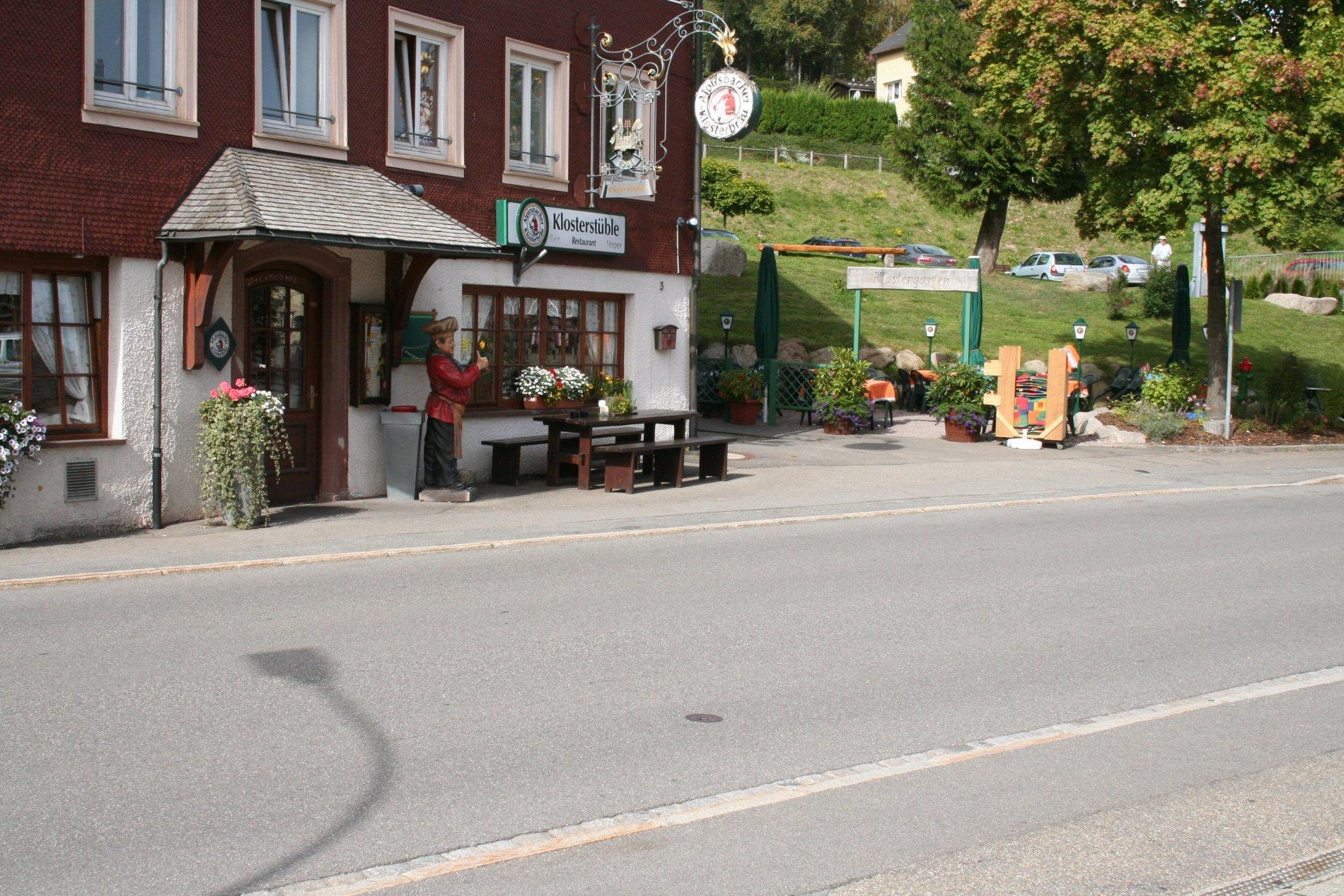 Restaurant Klosterstube mit Garten