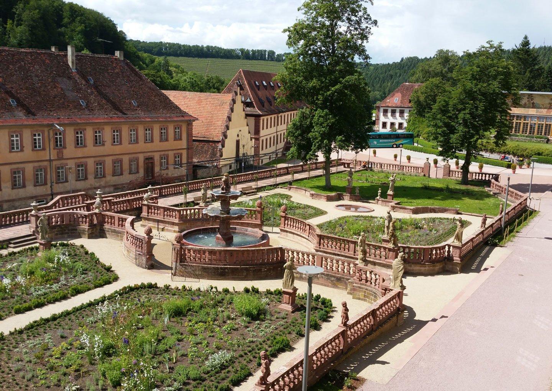 Kloster Bronnbach – Abteigarten