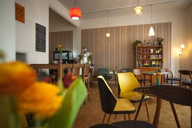 Lotties Café Innenansicht