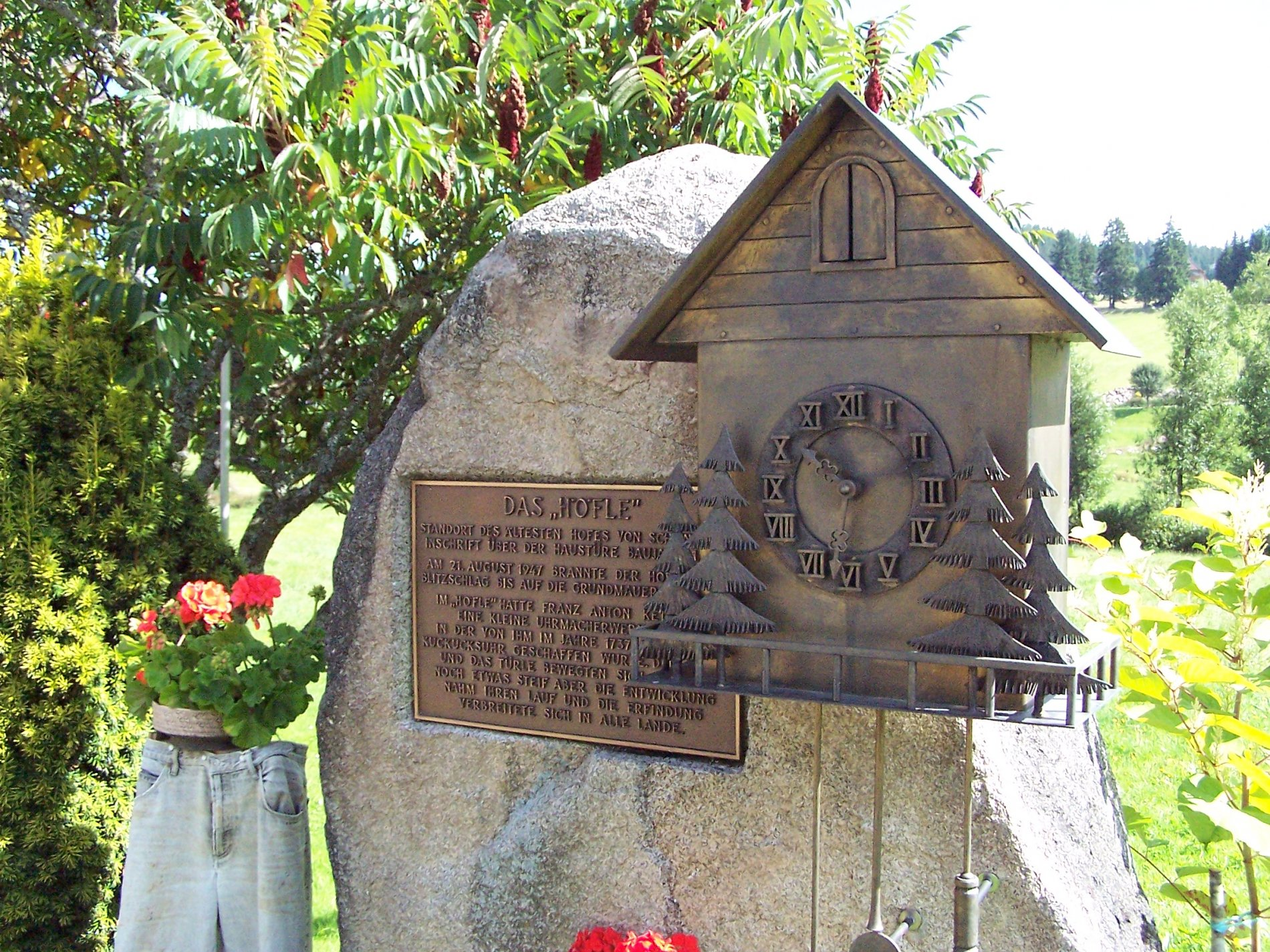 Denkmal Kuckucksuhr Schönwald