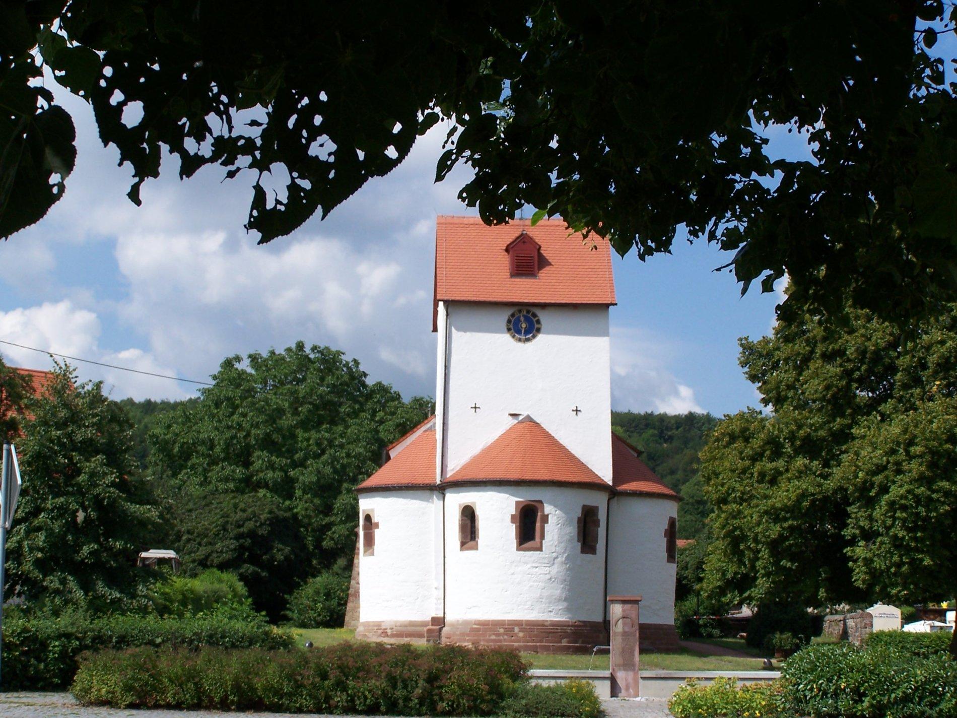 Stephanuskirche von Aussen, Blieskastel