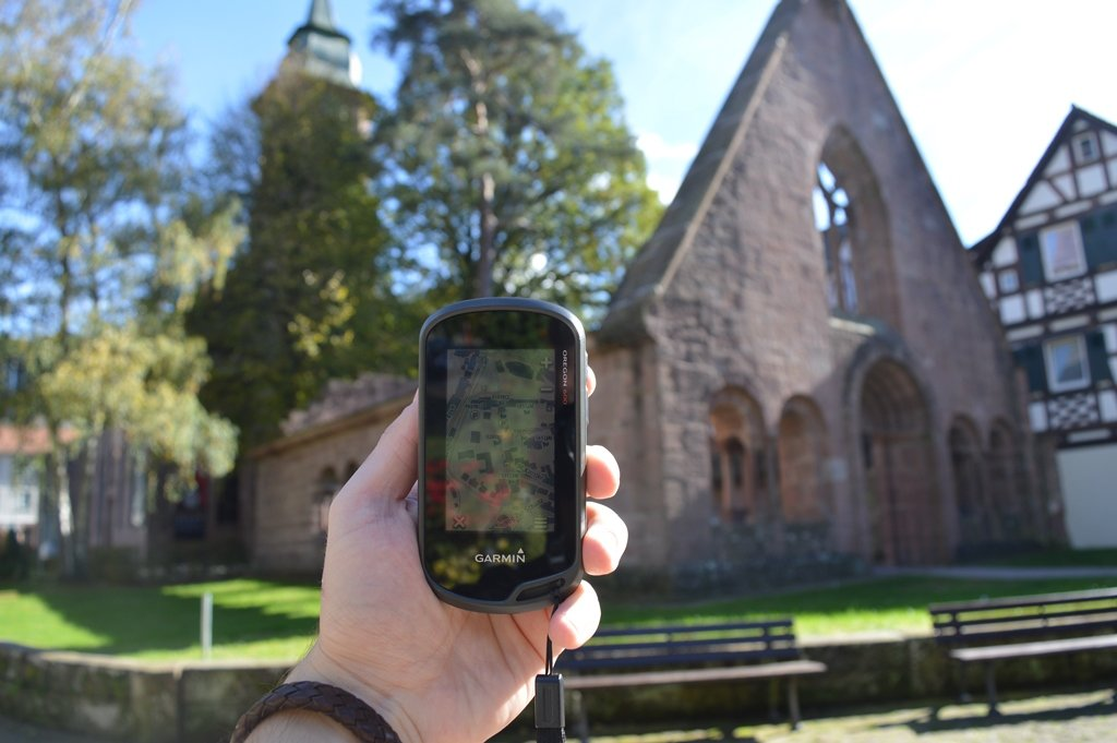 Geocachen in Kloster Bad Herrenalb.