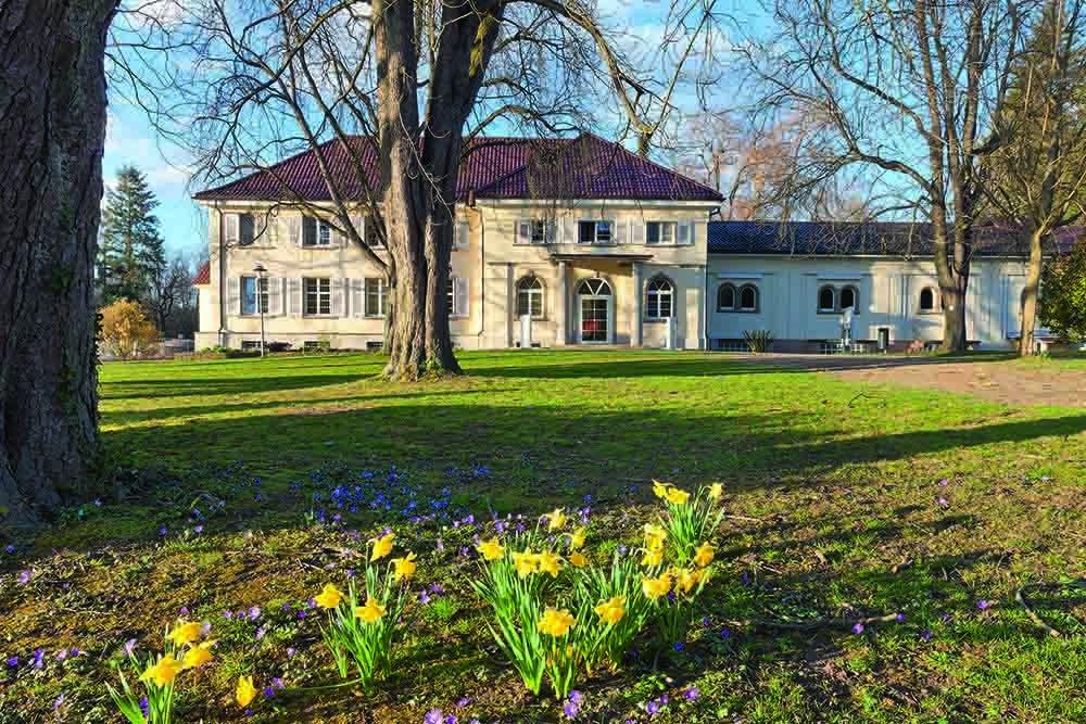 Gebäude der Kur und Bäder GmbH Bad Krozingen