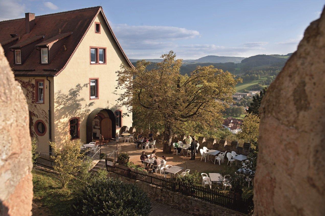 Schloss Reichenberg mit Café