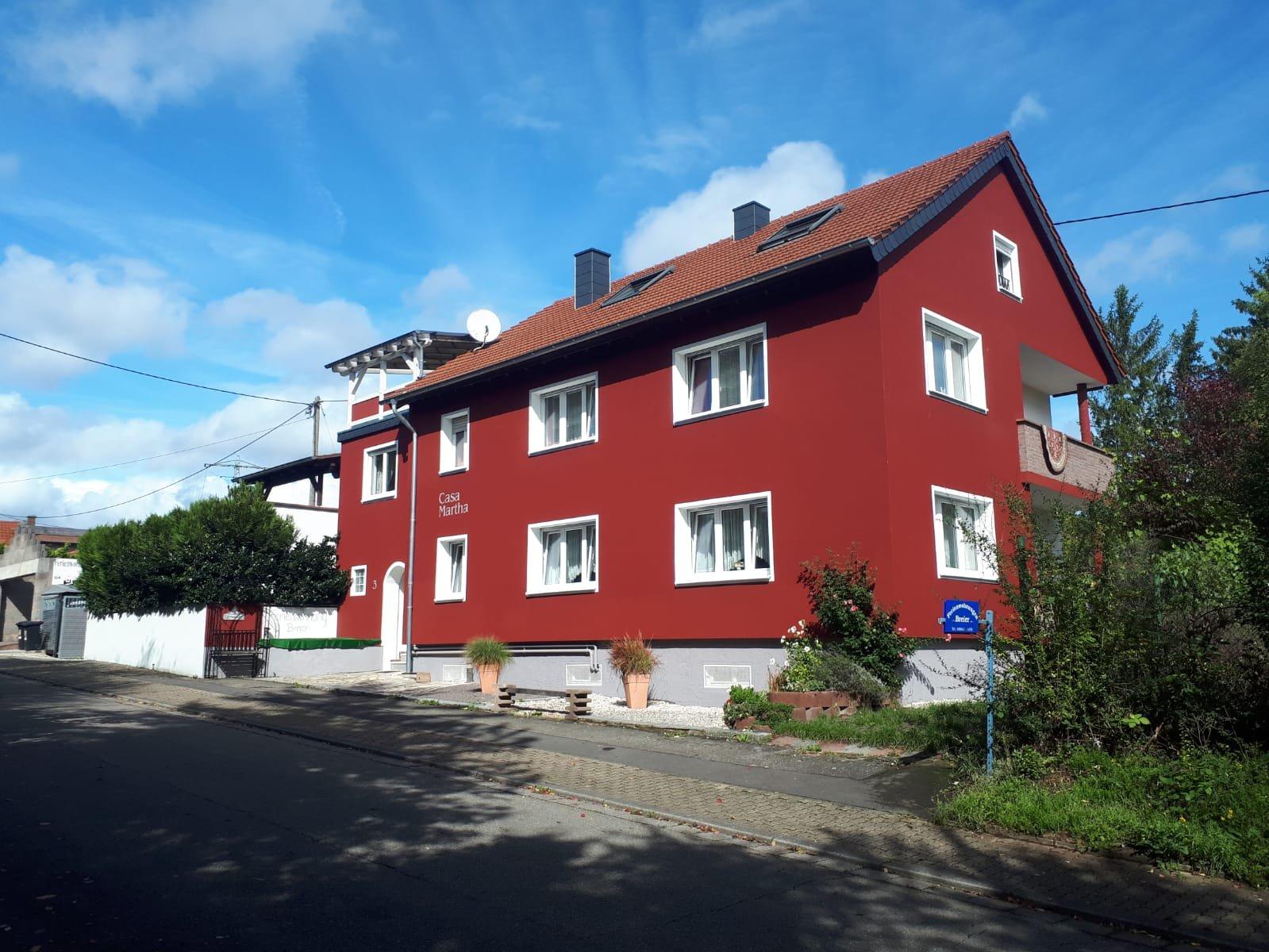 Das Haus außen