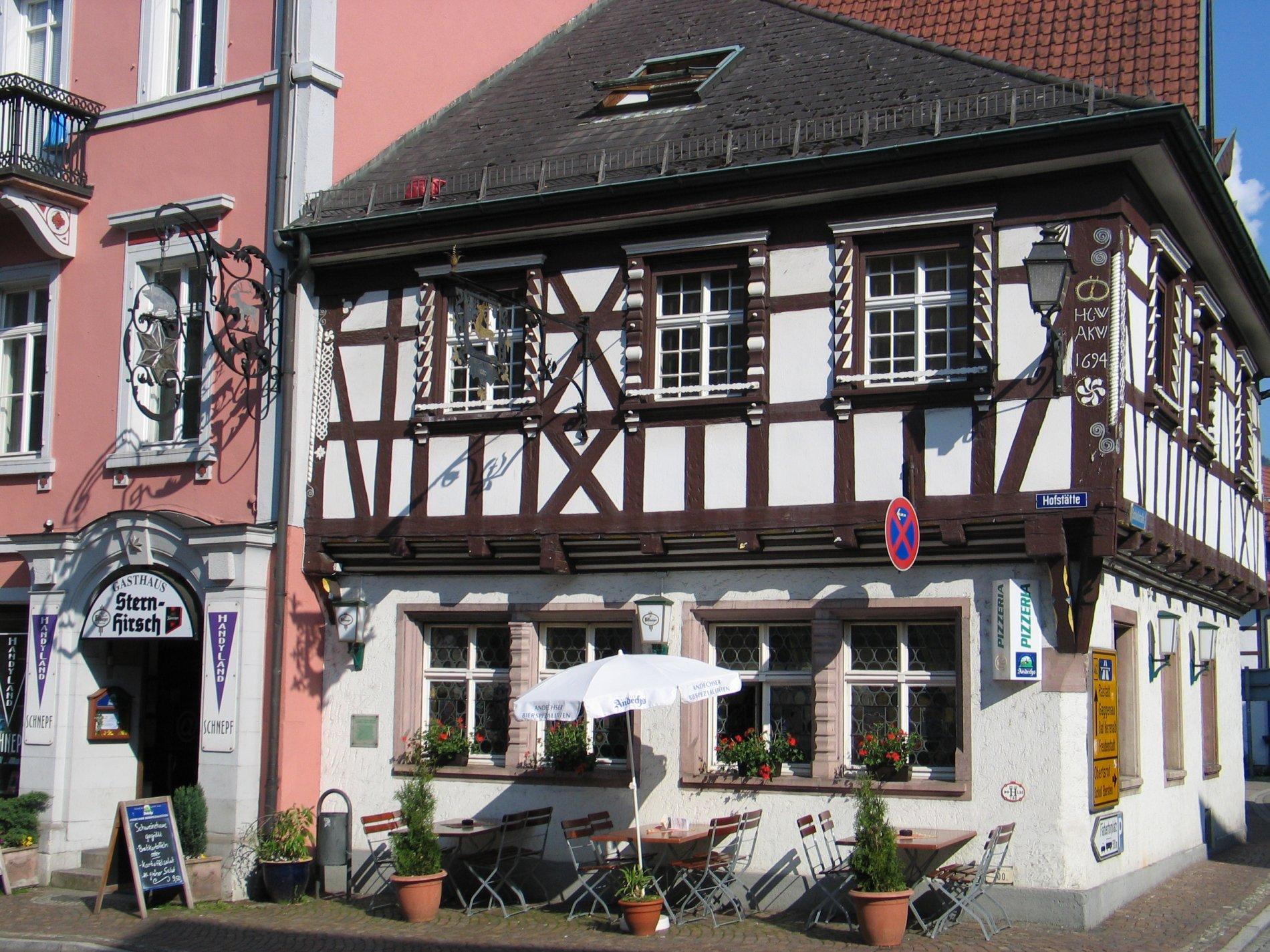 Schönes altes Fachwerkhaus