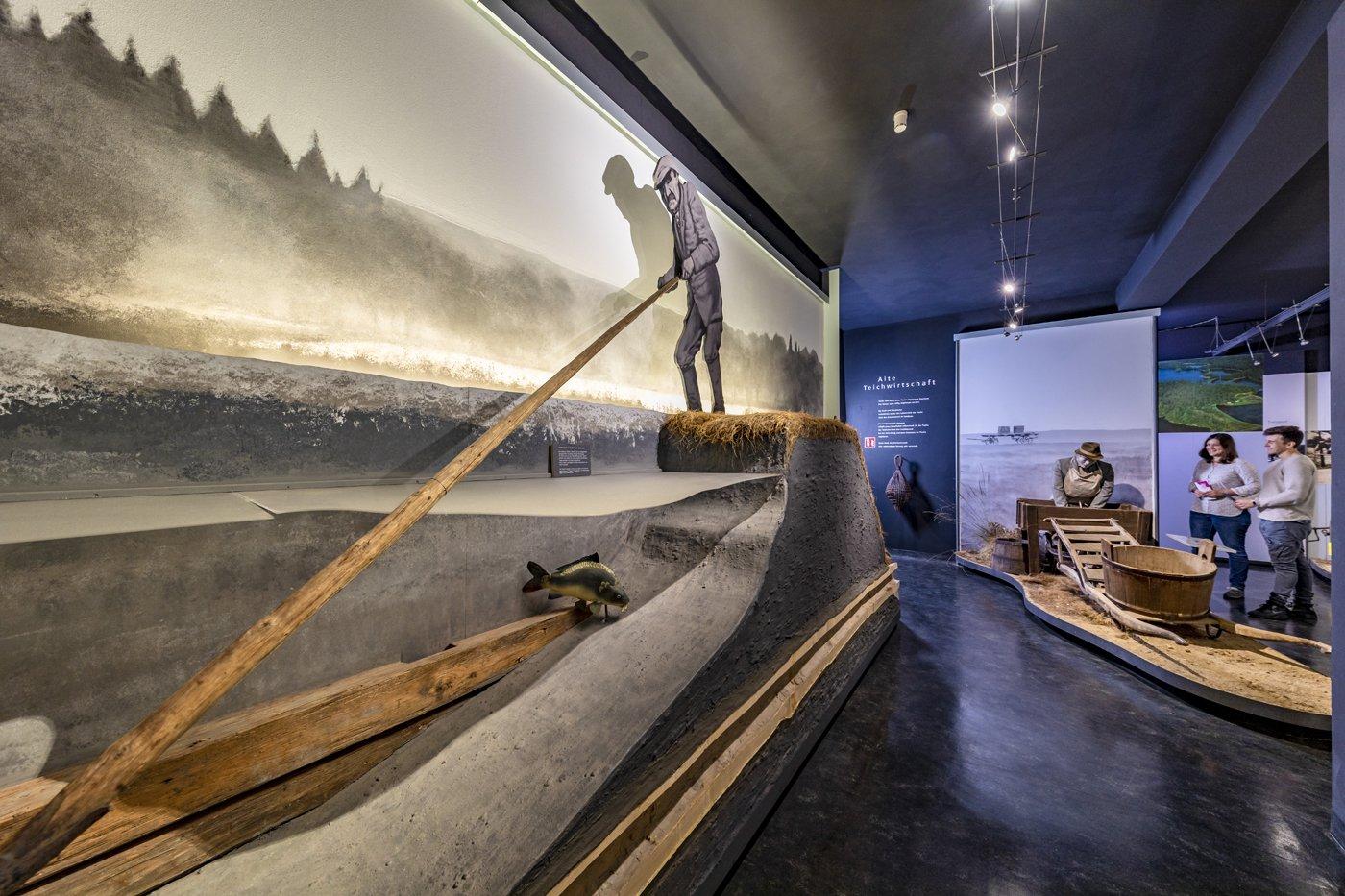 Das Oberpfälzer Fischereimuseum im MuseumsQuatier