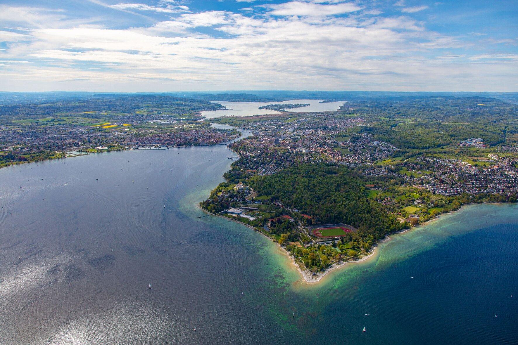 Stand-Up-Paddling auf dem Bodensee
