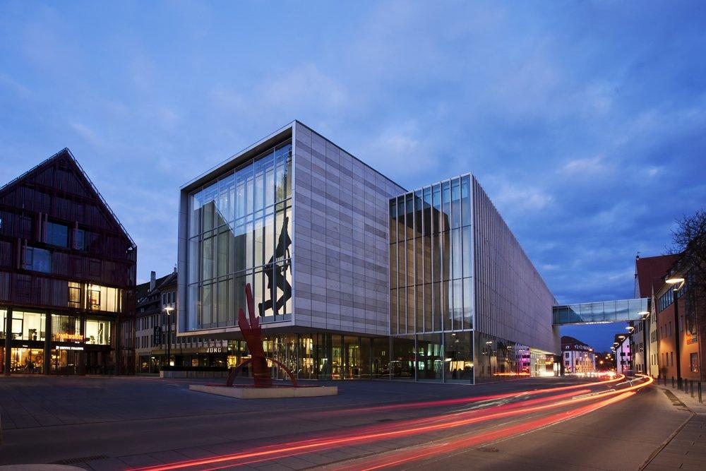 Ulms Neue Mitte - kunsthalle weishaupt