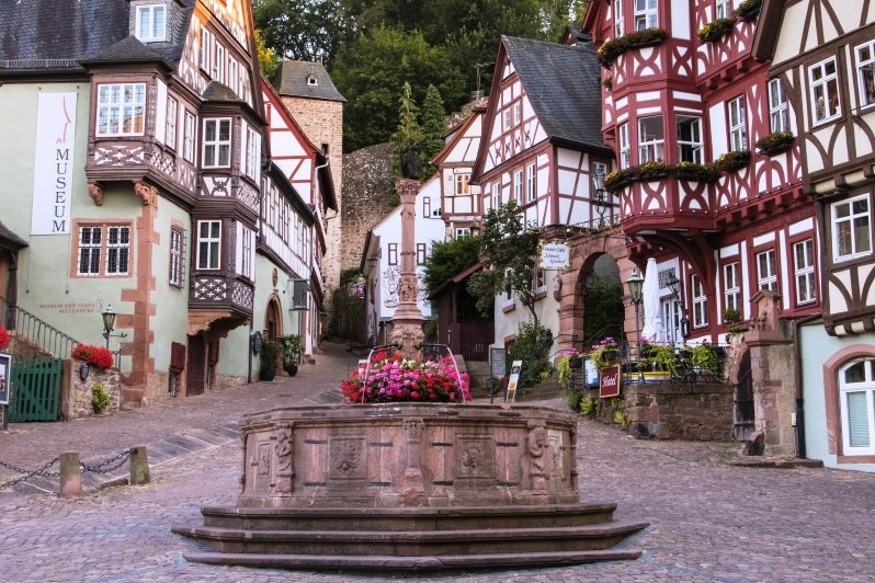 Marktplatz (Schnatterloch) in Miltenberg