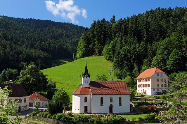 Die Evangelische Kirche in Kirnbach