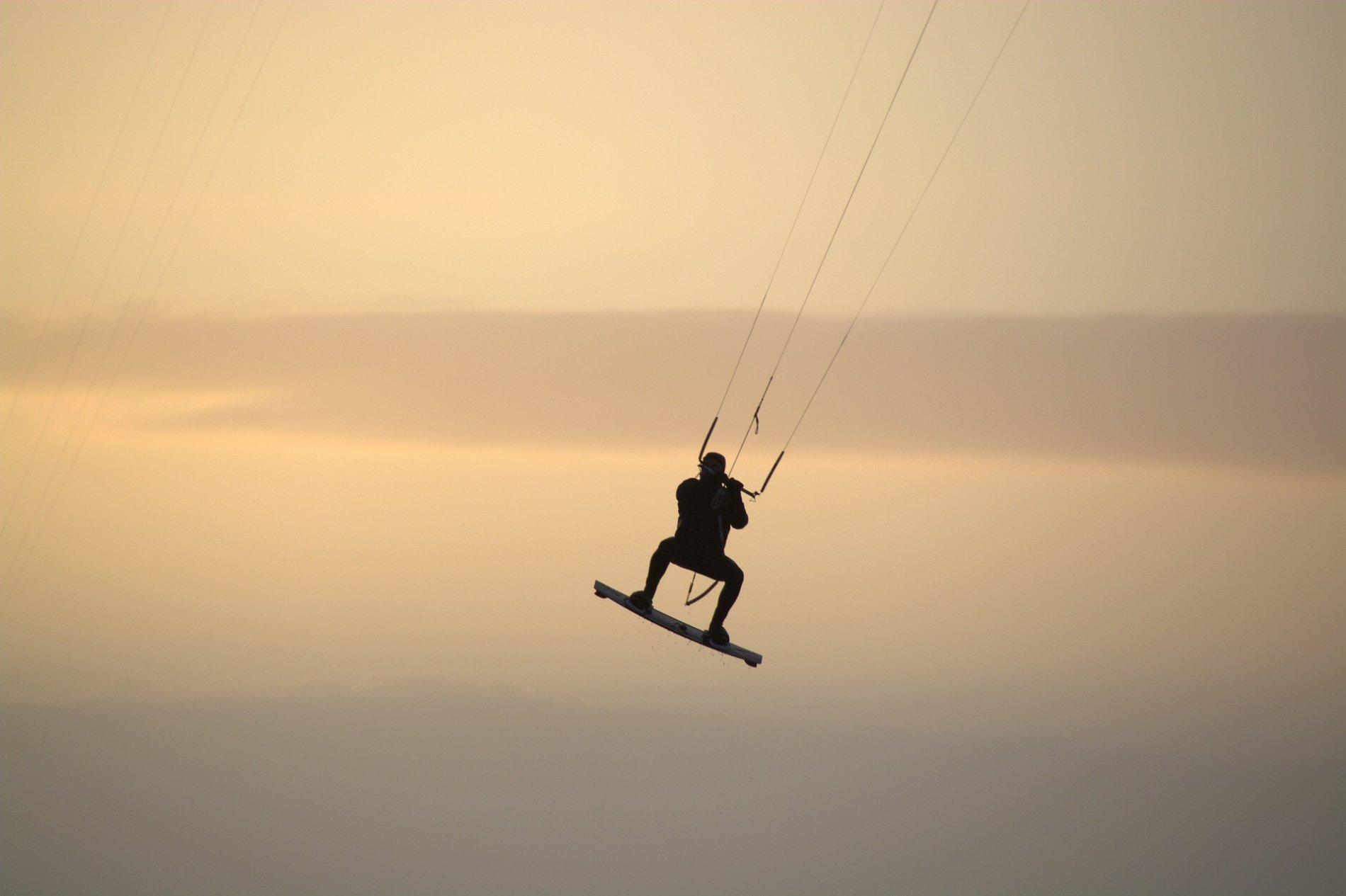 Kitesurfer Zugersee