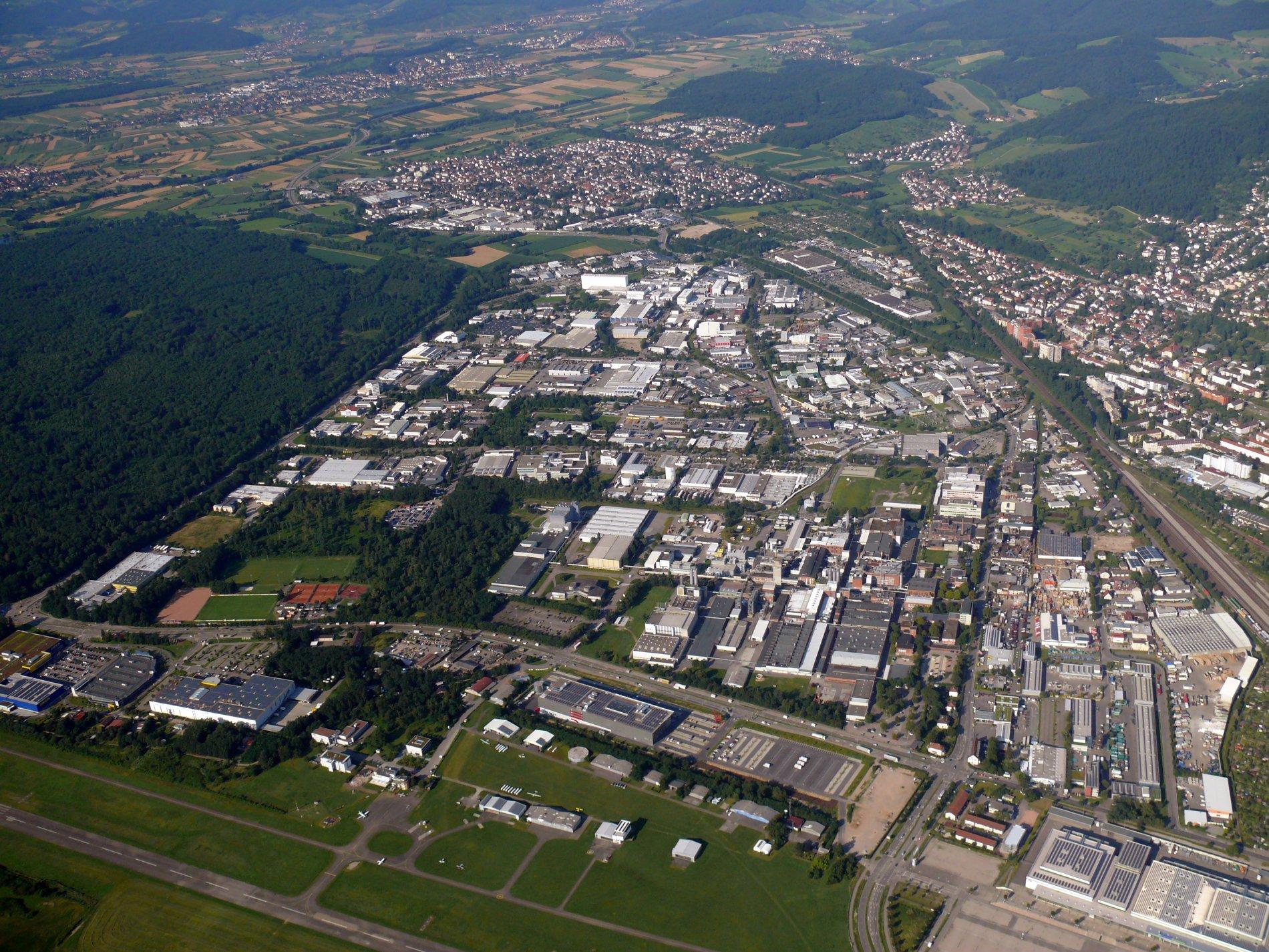 Luftaufnahme Industriegebiet Nord