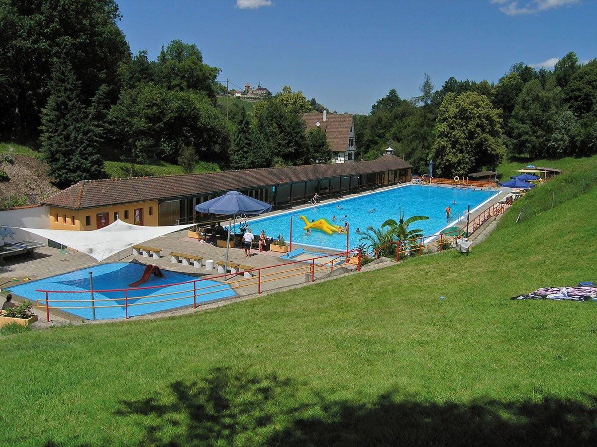 Freibad in Gernsbach-Obertsrot im Murgtal