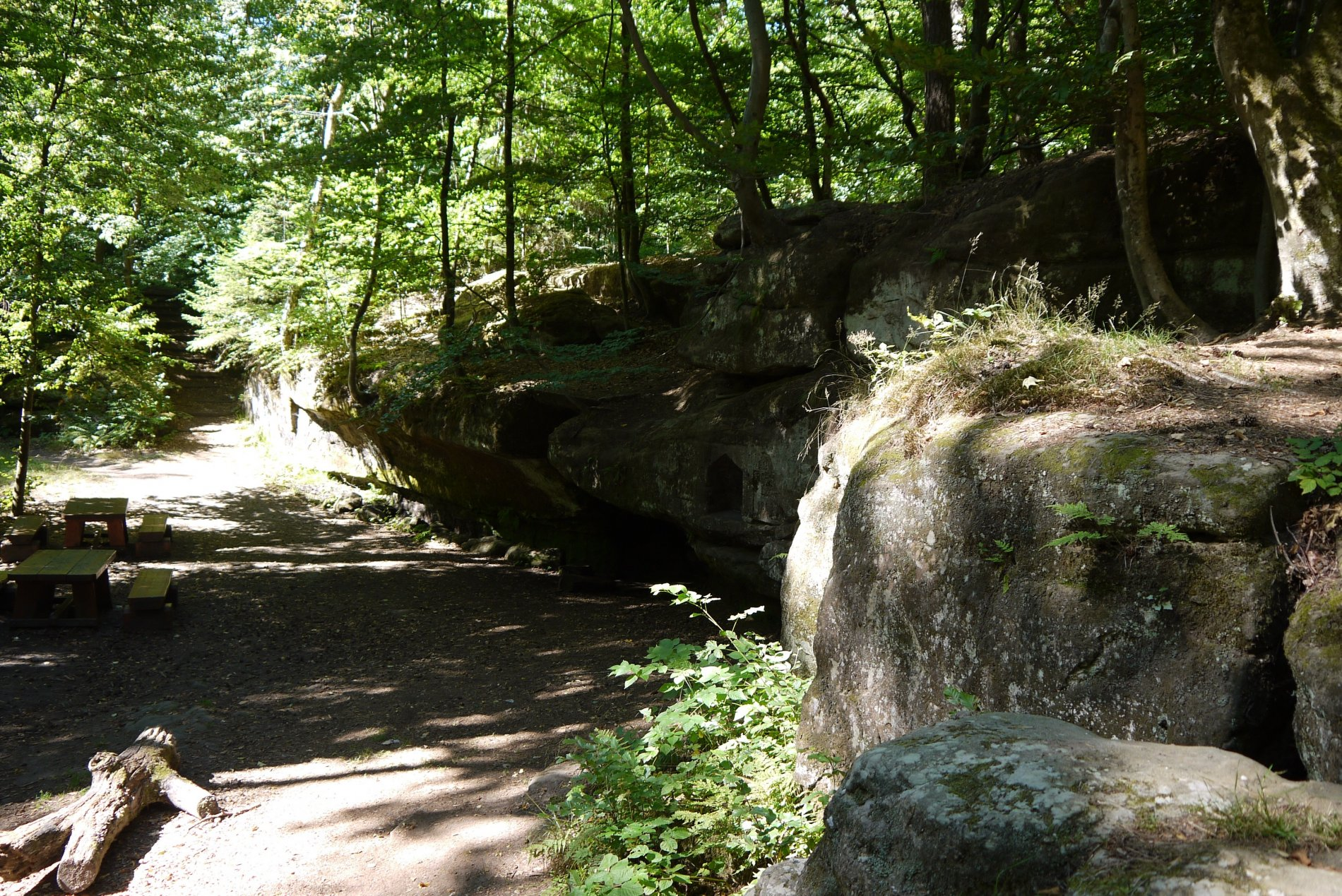 Frauenbrunnen im Kirkeler Wald