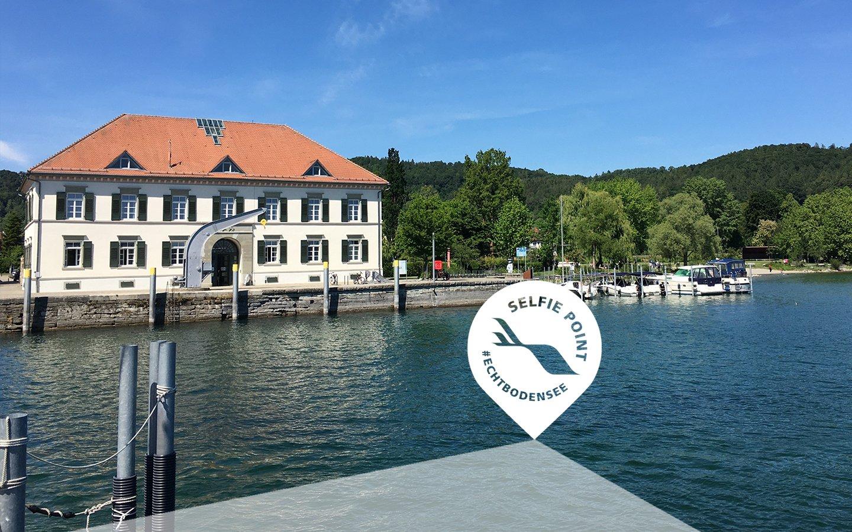 Selfie-Point am Zollhaus Ludwigshafen