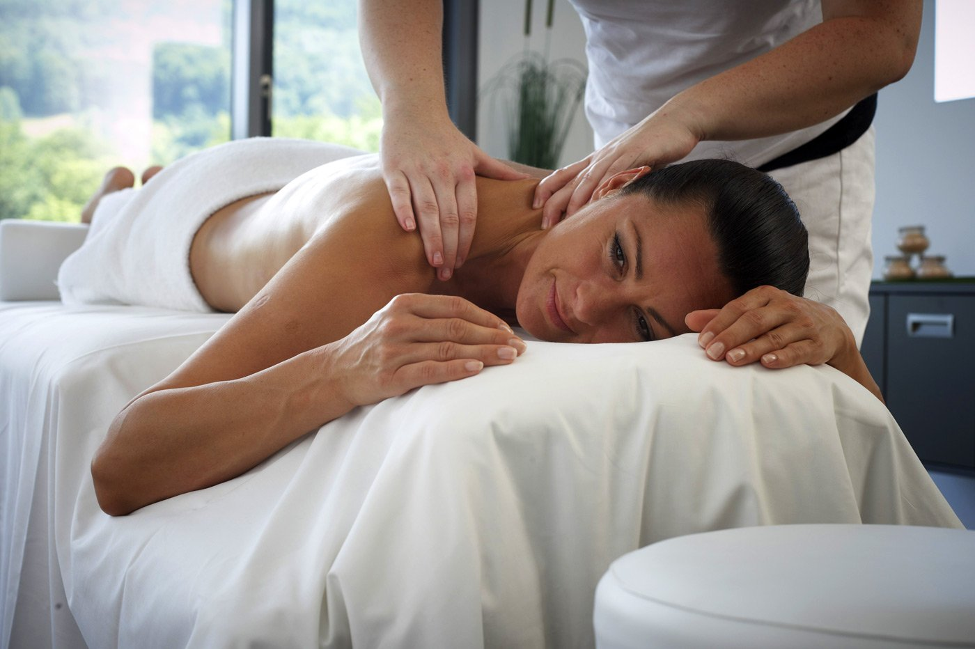 Massage im Wellnesspark