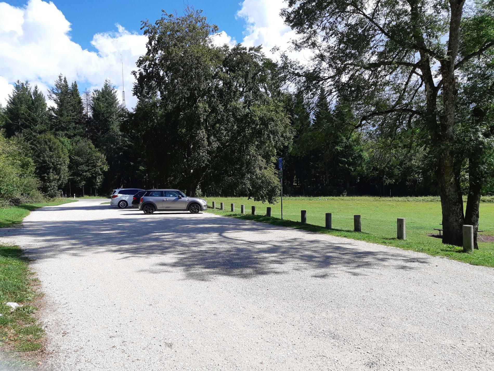 Parkplatz Schneckenbuckel, Albstadt-Onstmettingen