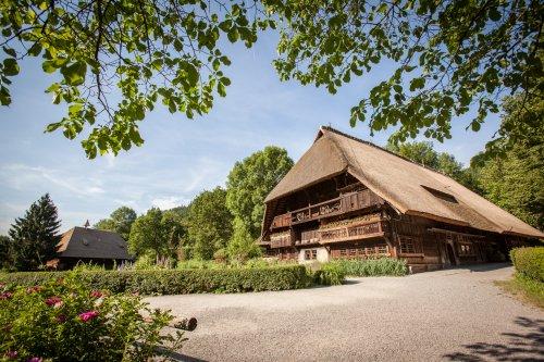 Das Schwarzwälder Freilichtmuseum Vogtsbauernhof in Gutach