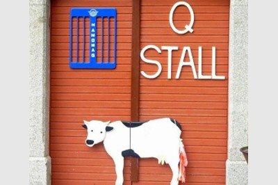 Eingang Q-Stall