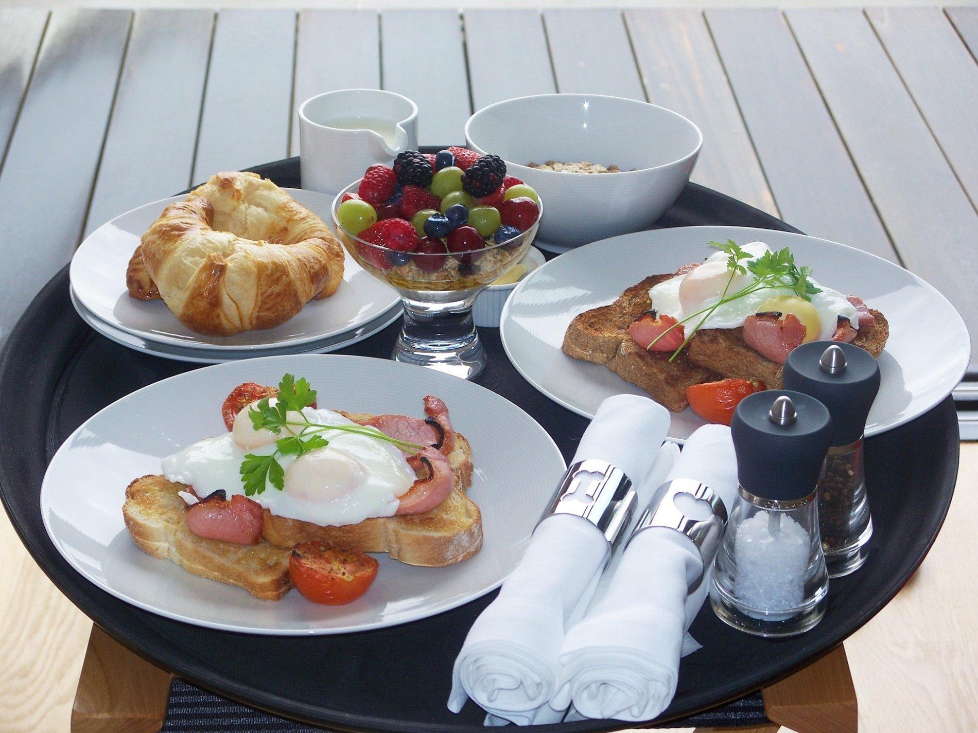 Frühstück im ALEX