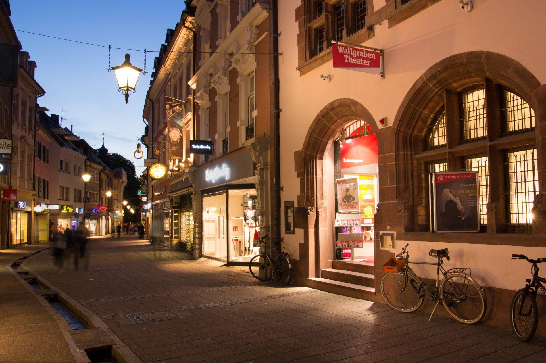 Freiburg Wallgraben Theater Rathausgasse