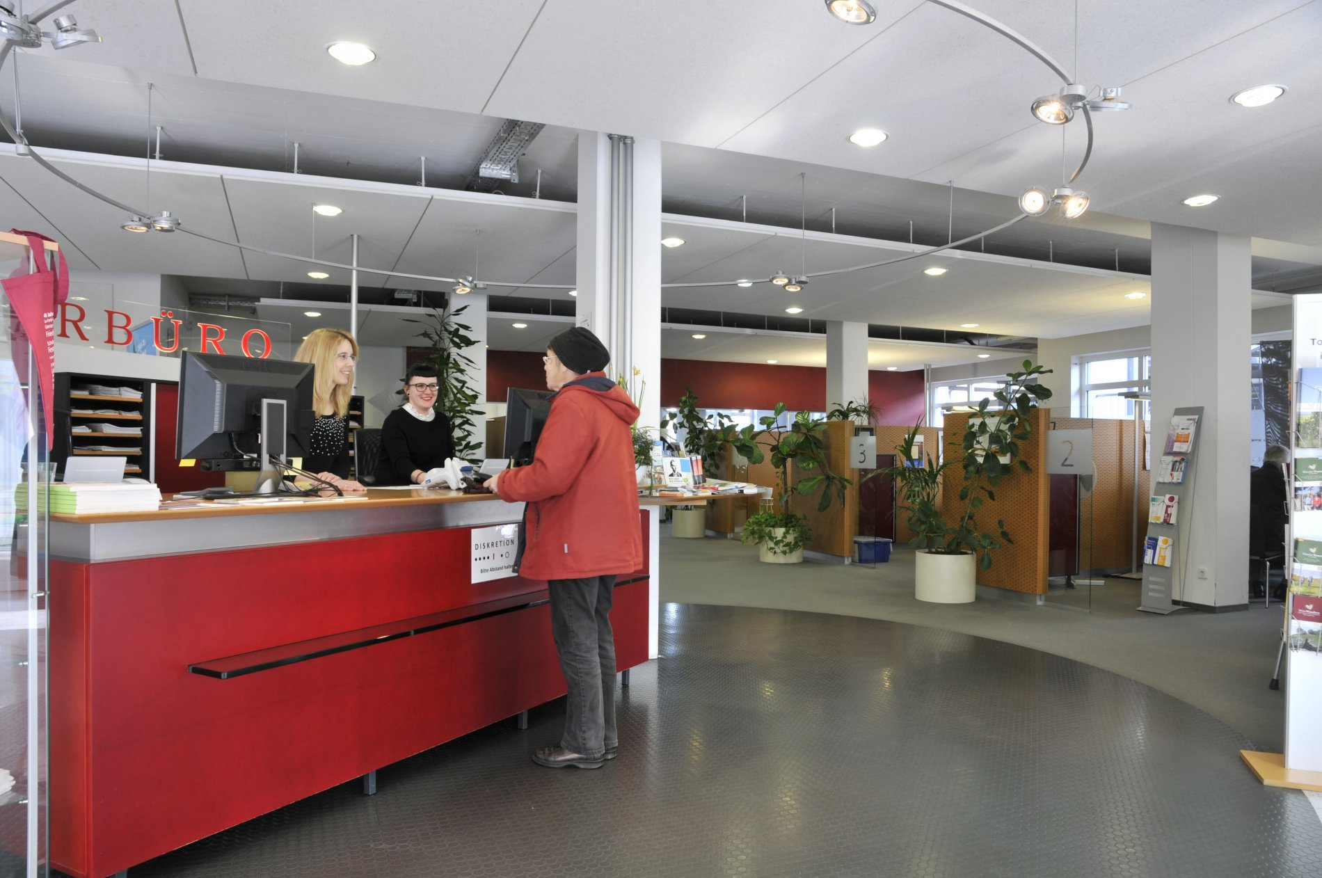 Touristinformation im Bürgerbüro Lauffen a.N.