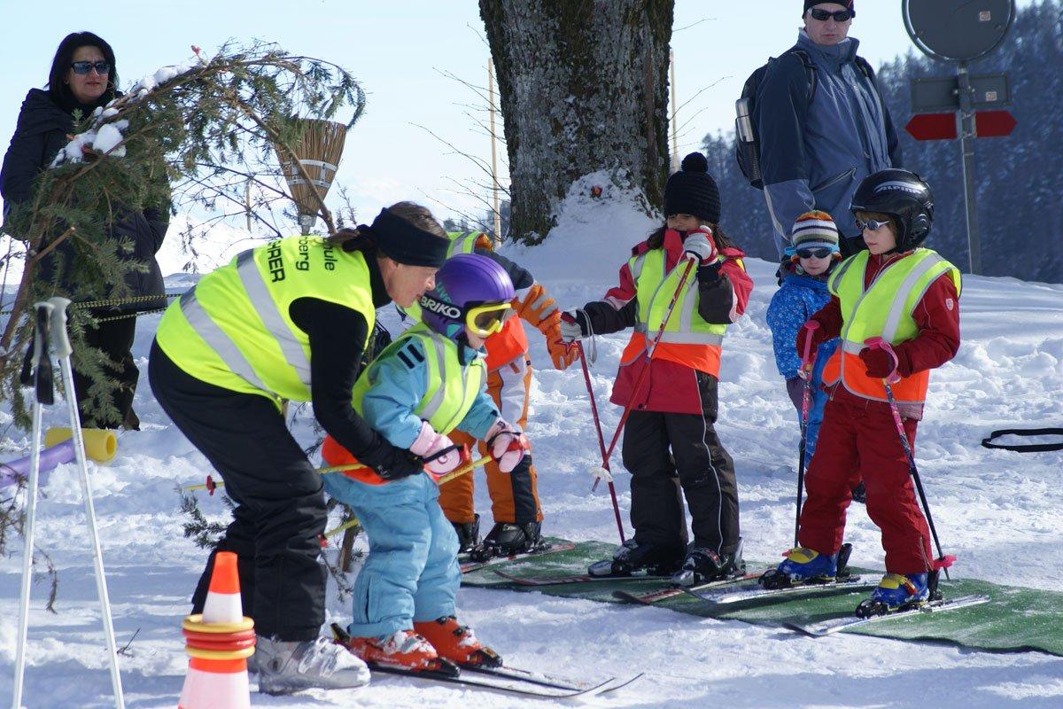 Skigebiet Balmberg Skischule