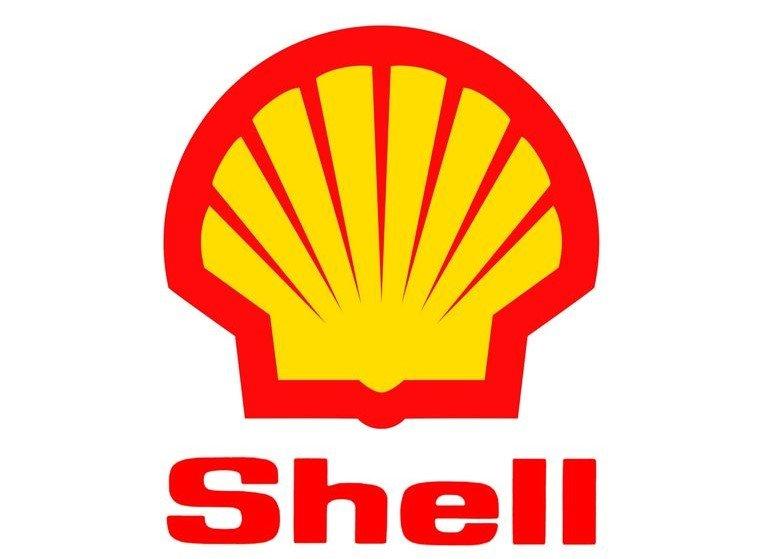 Shell logo rot gelb