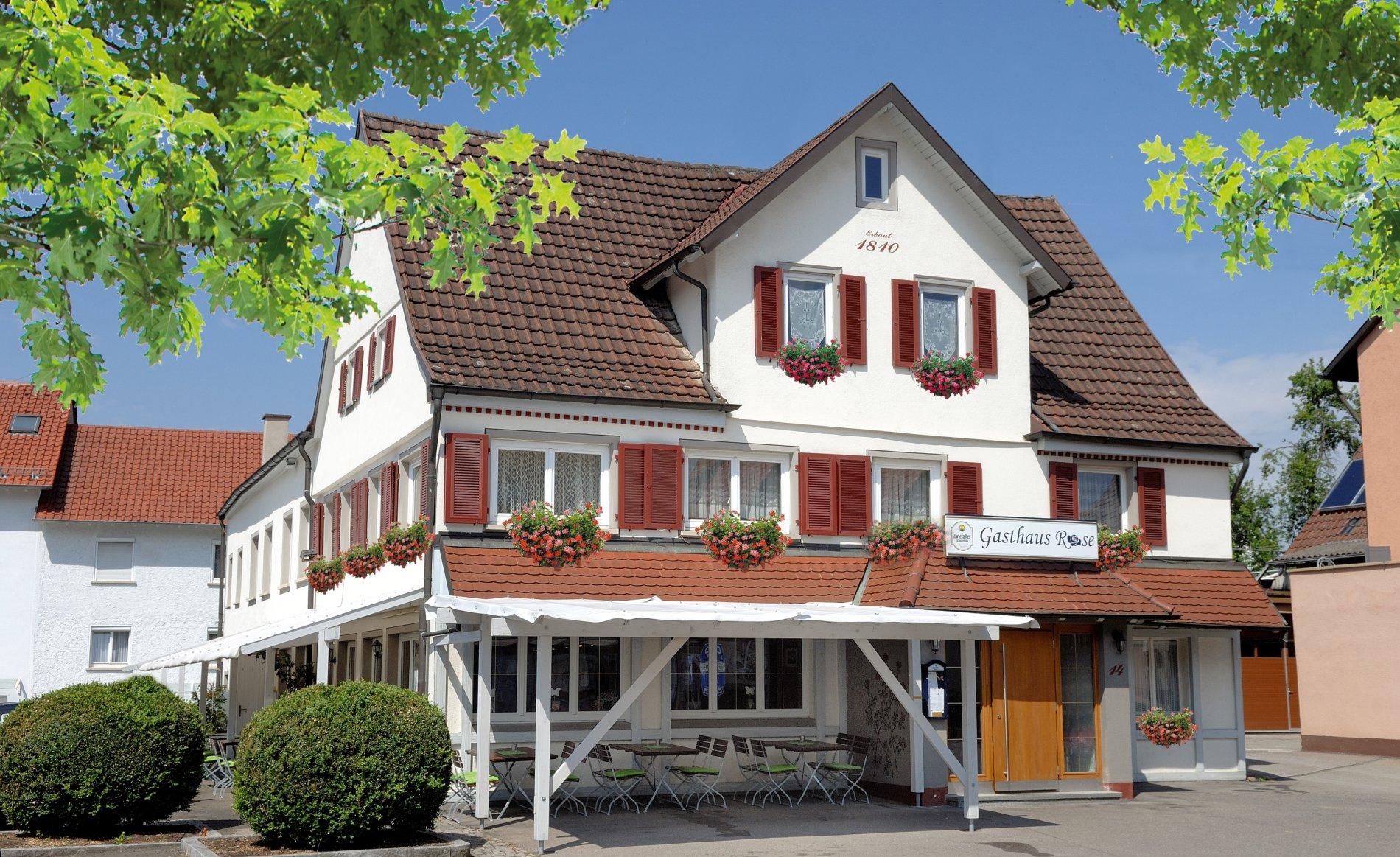 Gasthaus Rose Außenansicht