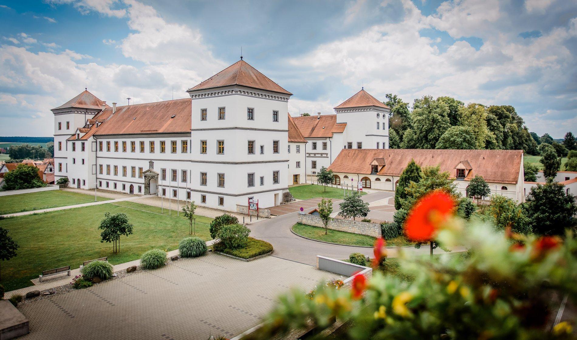 Schloss Meßkirch und Stadtkirche St. Martin
