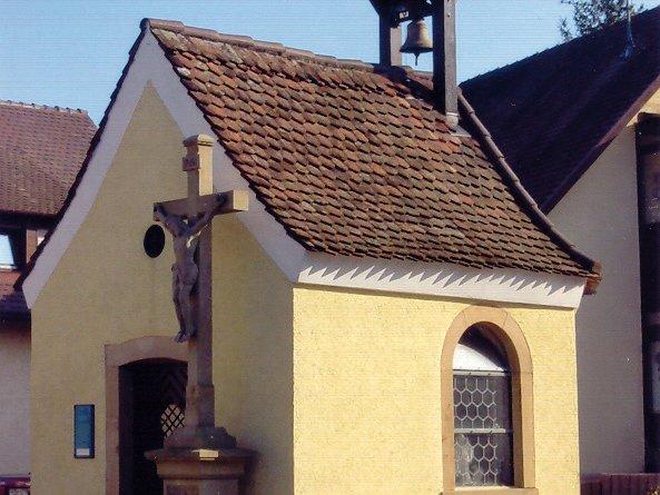 Außenansicht Fridolins Kapelle