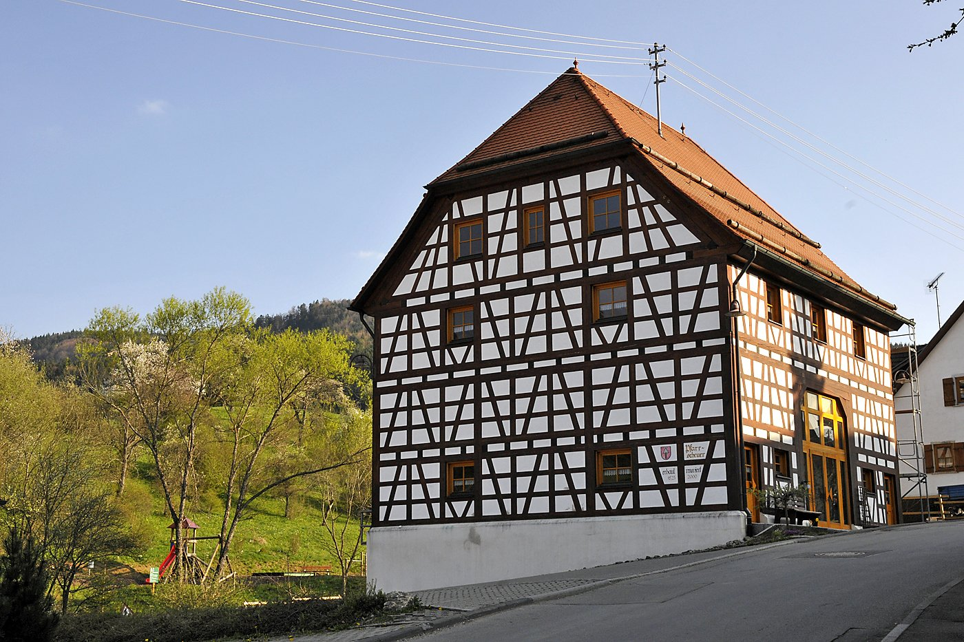 Ehemalige Pfarrscheuer in Ratshausen