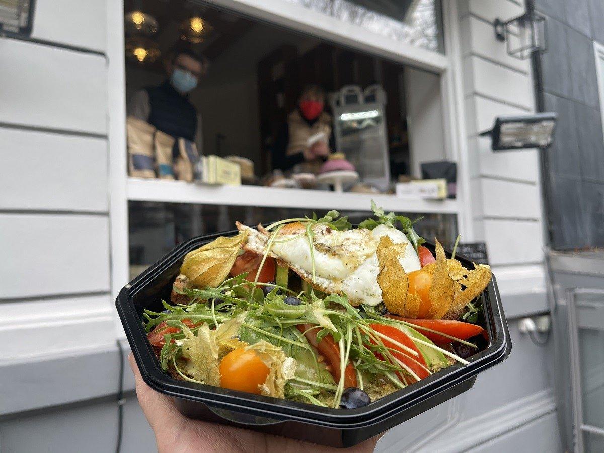 Culinary delights on the Schweizer Straße