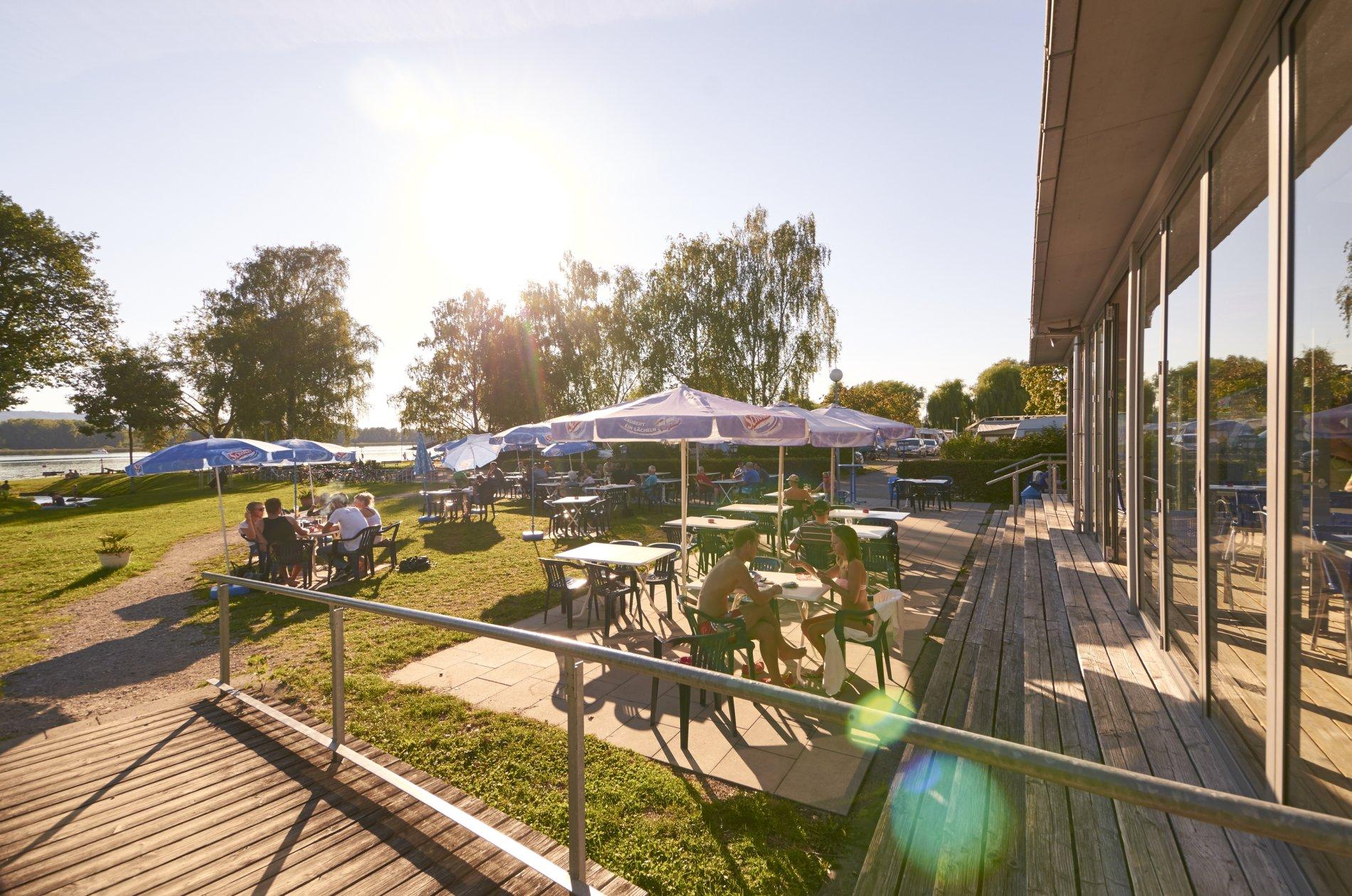 Kiosk am Strandbad und Campingplatz Markelfingen